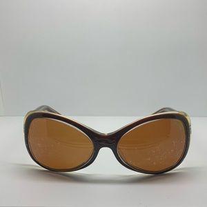 BCBG Maxazria BC105 Tortoise Butterfly Sunglasses